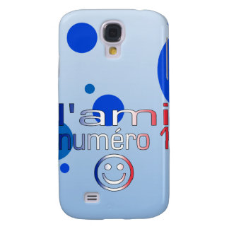 L'Ami Numéro 1 in French Flag Colors for Boys Samsung Galaxy S4 Cover