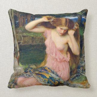 Lamia 1909 throw pillows
