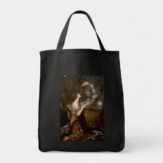 Lamia by John William Waterhouse Bags
