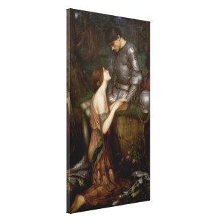 Lamia by John William Waterhouse Canvas Print