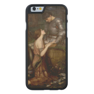 Lamia by John William Waterhouse Carved Maple iPhone 6 Case