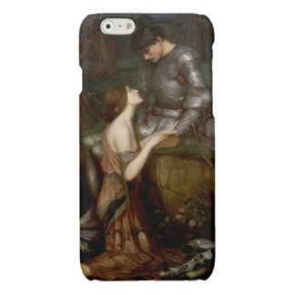 Lamia by John William Waterhouse Glossy iPhone 6 Case