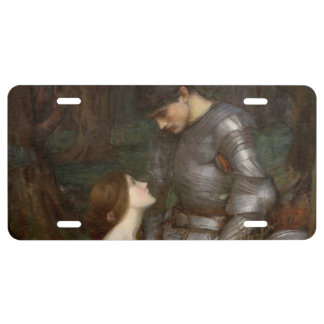 Lamia by John William Waterhouse License Plate