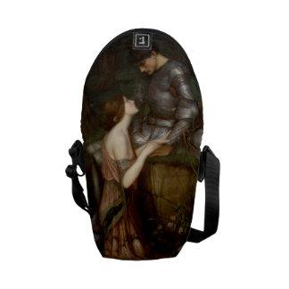 Lamia by John William Waterhouse Messenger Bag