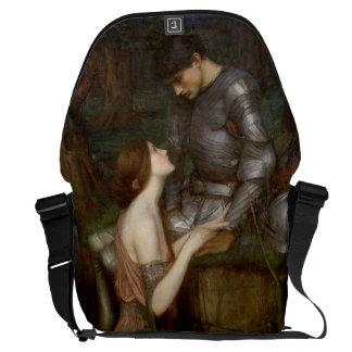 Lamia by John William Waterhouse Messenger Bags