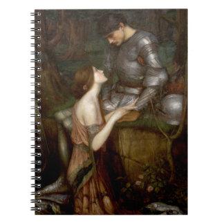 Lamia by John William Waterhouse Spiral Note Book