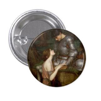 Lamia by John William Waterhouse Pinback Button