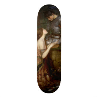 Lamia by John William Waterhouse Skateboard Deck