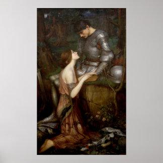 Lamia de John William Waterhouse Póster