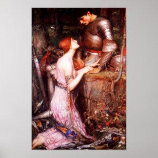 Lamia del Waterhouse y el poster del soldado