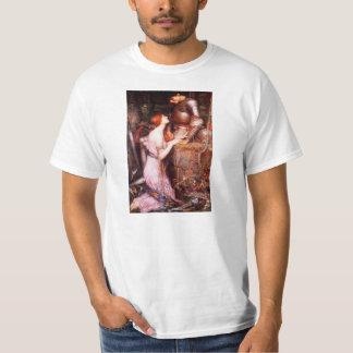 Lamia del Waterhouse y la camiseta del soldado Polera