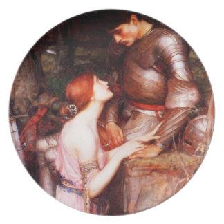 Lamia del Waterhouse y la placa del soldado Plato