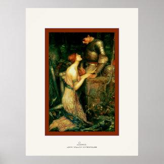 Lamia ~ John William Waterhouse Poster