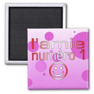 L'Amie Numéro 1 en los colores canadienses de la b Iman