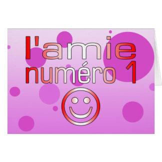 L'Amie Numéro 1 en los colores canadienses de la b Felicitación