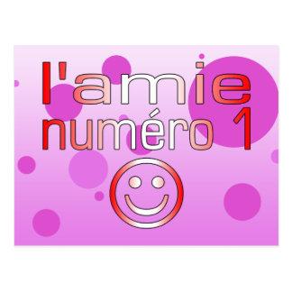 L'Amie Numéro 1 en los colores canadienses de la b Tarjetas Postales