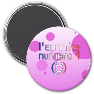 L'Amie Numéro 1 en los colores franceses de la ban Imanes De Nevera