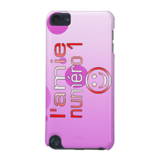 L'Amie Numéro 1 in Canadian Flag Colors for Girls iPod Touch (5th Generation) Case