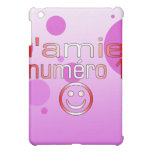 L'Amie Numéro 1 in Canadian Flag Colors for Girls iPad Mini Case