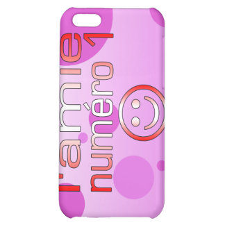 L'Amie Numéro 1 in Canadian Flag Colors for Girls Case For iPhone 5C
