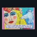 """LAMINATED PLACEMAT- A FRIEND IS SOMEONE WHO KNOWS PLACEMAT<br><div class=""""desc"""">THE SONG IN YOUR HEART AND CAN SING IT BACK TO YOU WHEN YOU HAVE FORGOTTEN THE WORDS.</div>"""
