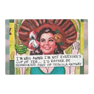 Laminated Placemat-im Well Aware Im Not Placemat at Zazzle
