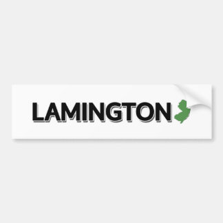 Lamington, New Jersey Pegatina Para Coche