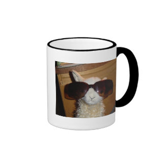 Lamma, Llama's Can Be Cool Too!!! Ringer Mug