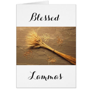 Lammas Blessings Card