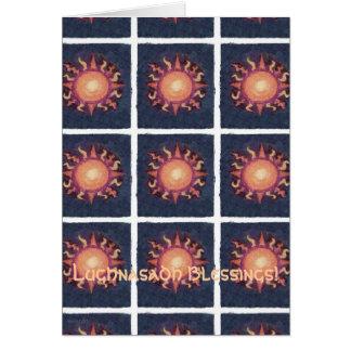 Lammas/Lughnasa Sun Harvest Pagan Card