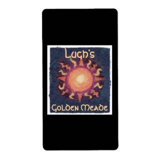 Lammas/Lughnasa Sun Harvest Pagan Craft Label