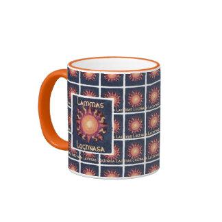 Lammas/Lughnasa Sun Harvest Pagan Ringer Mug