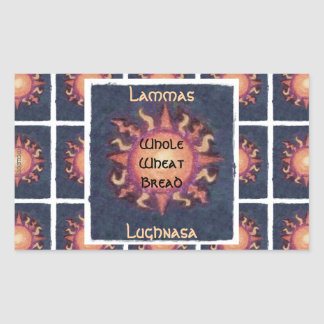 Lammas/Lughnasa Sun Harvest Pagan Stickers