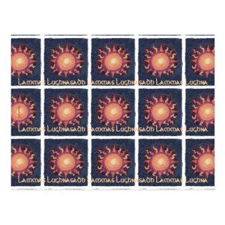 Lammas/Lughnasadh Sun Harvest Pagan Postcard