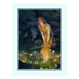 'Lammas Night' Postcard