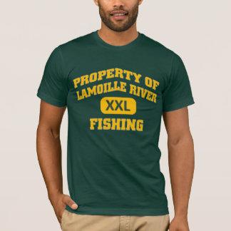 Lamoille River XXL Fishing T-Shirt