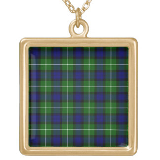 Lamont Square Pendant Necklace