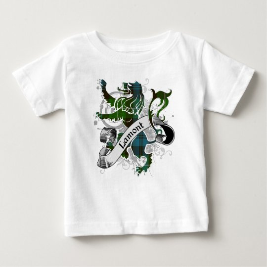 Lamont Tartan Lion Baby T-Shirt