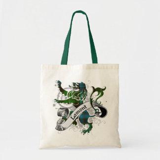 Lamont Tartan Lion Budget Tote Bag