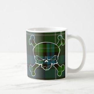 Lamont Tartan Skull No Banner Coffee Mug