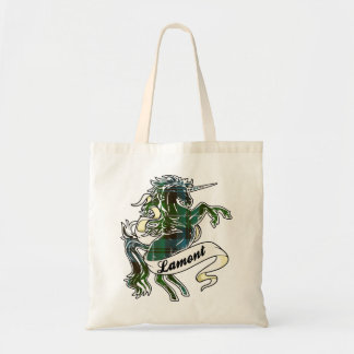 Lamont Tartan Unicorn Tote Bag