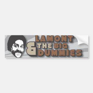 Lamont y la pegatina para el parachoques grande de pegatina para auto