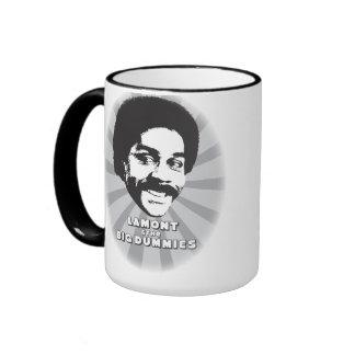 Lamont y la taza de café básica de los maniquíes g