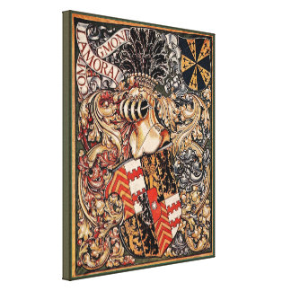 Lamoral, Count of Egmont (Vintage Coat of Arms) Canvas Print