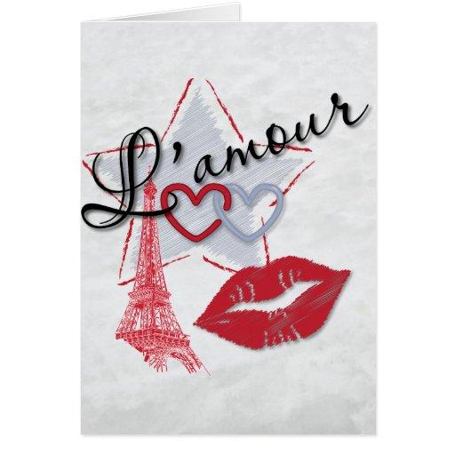 L'amour todo mi amor tarjeta de felicitación