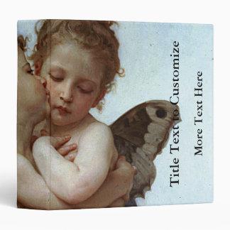 """L'Amour y psique, enfants (Cupid) de Bouguereau Carpeta 1 1/2"""""""