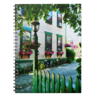Lamp and Window Boxes Spiral Note Books