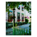 Lamp and Window Boxes print