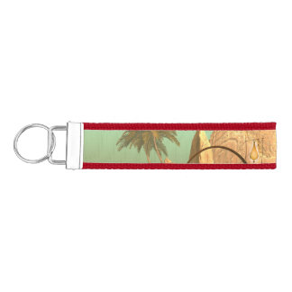 Lamp boat with fairy wrist keychain