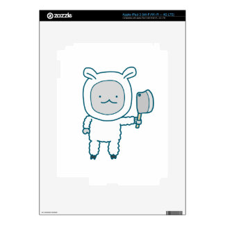 Lamp Chop iPad 3 Skins